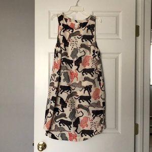 H&M tiger print dress